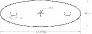 Rounded generic carrier plate
