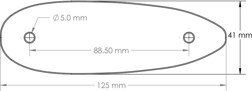HFT500 carrier plate